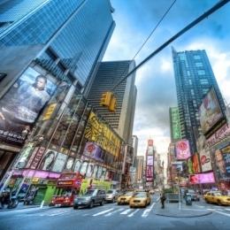 Америка Нью Йорк Манхетен